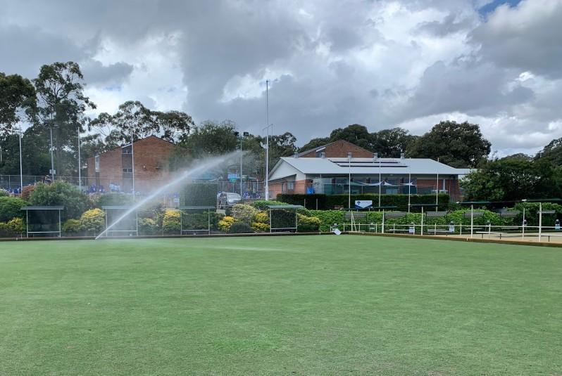 Bowling Club Irrigation Installation
