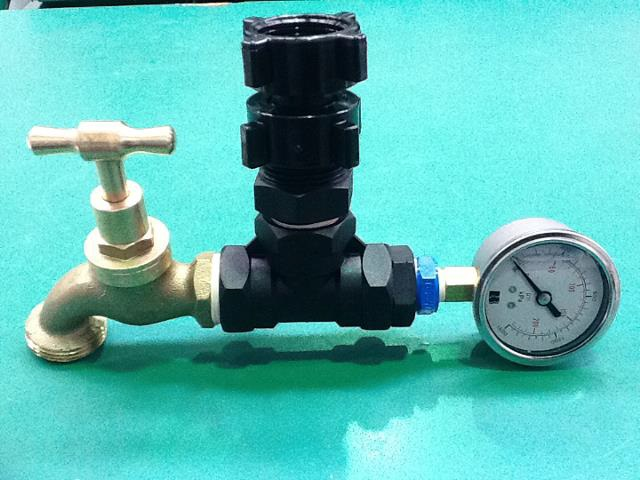 pressure tester for accurate Flow and pressure measurements for irrigation