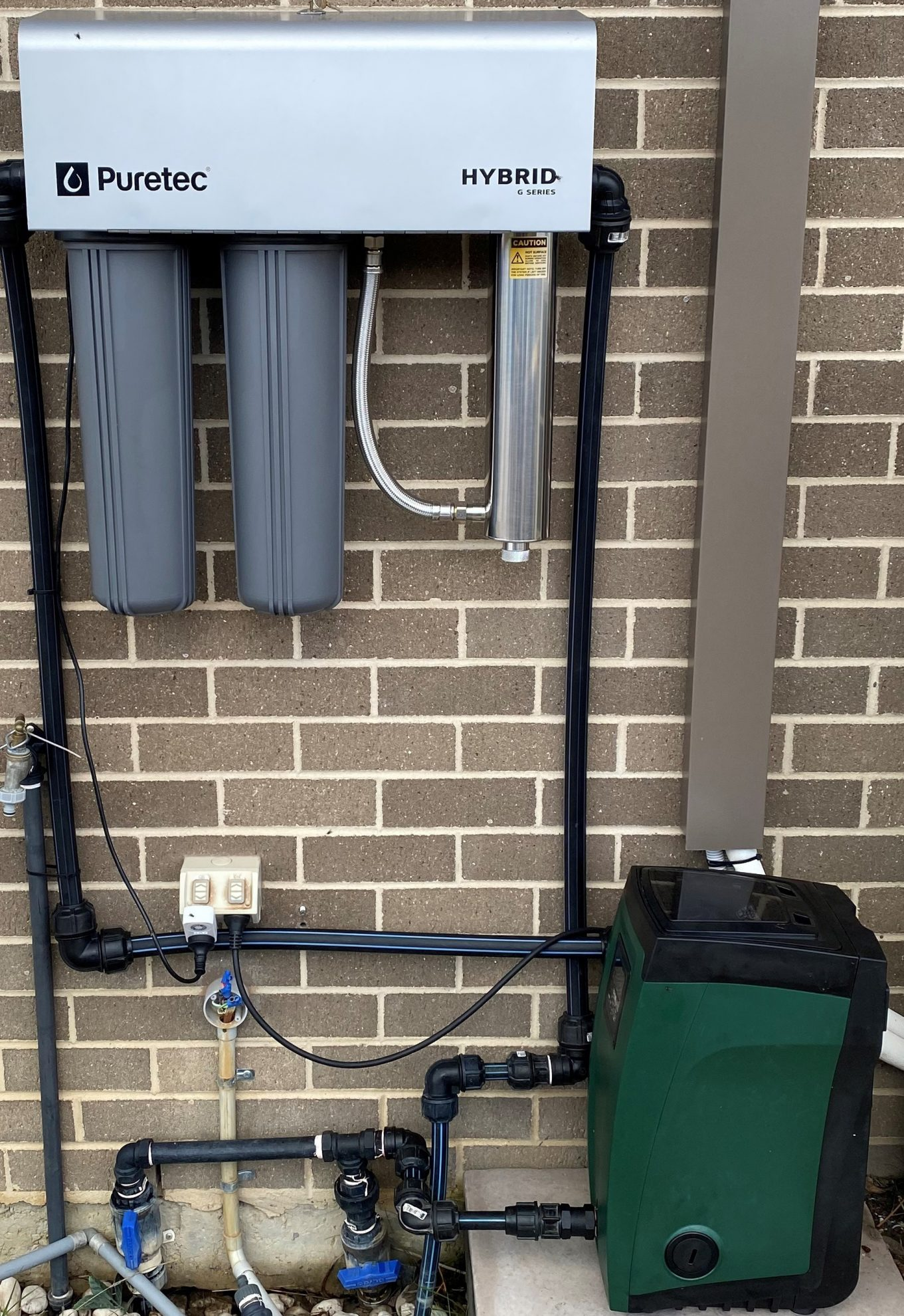 PURETEC HYBRID G7 WHOLE HOUSE RAINWATER UV DUAL WATER TREATMENT SYSTEM