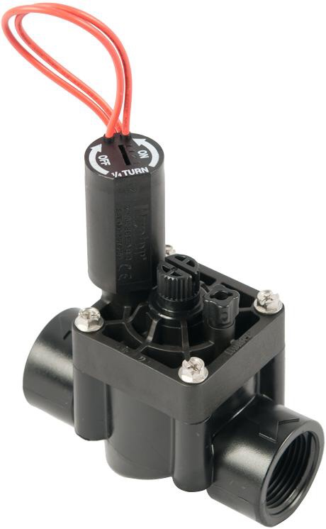 HUNTER 25MM PGV101 SOLENOID VALVE WITH FLOW CONTROL