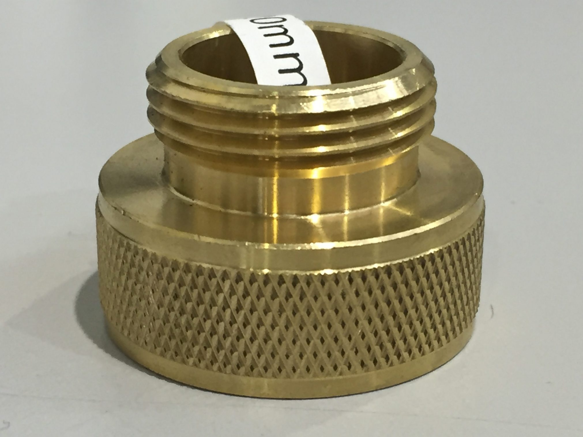 BRASS 25MM X 20MM TAP ADAPTER M + F