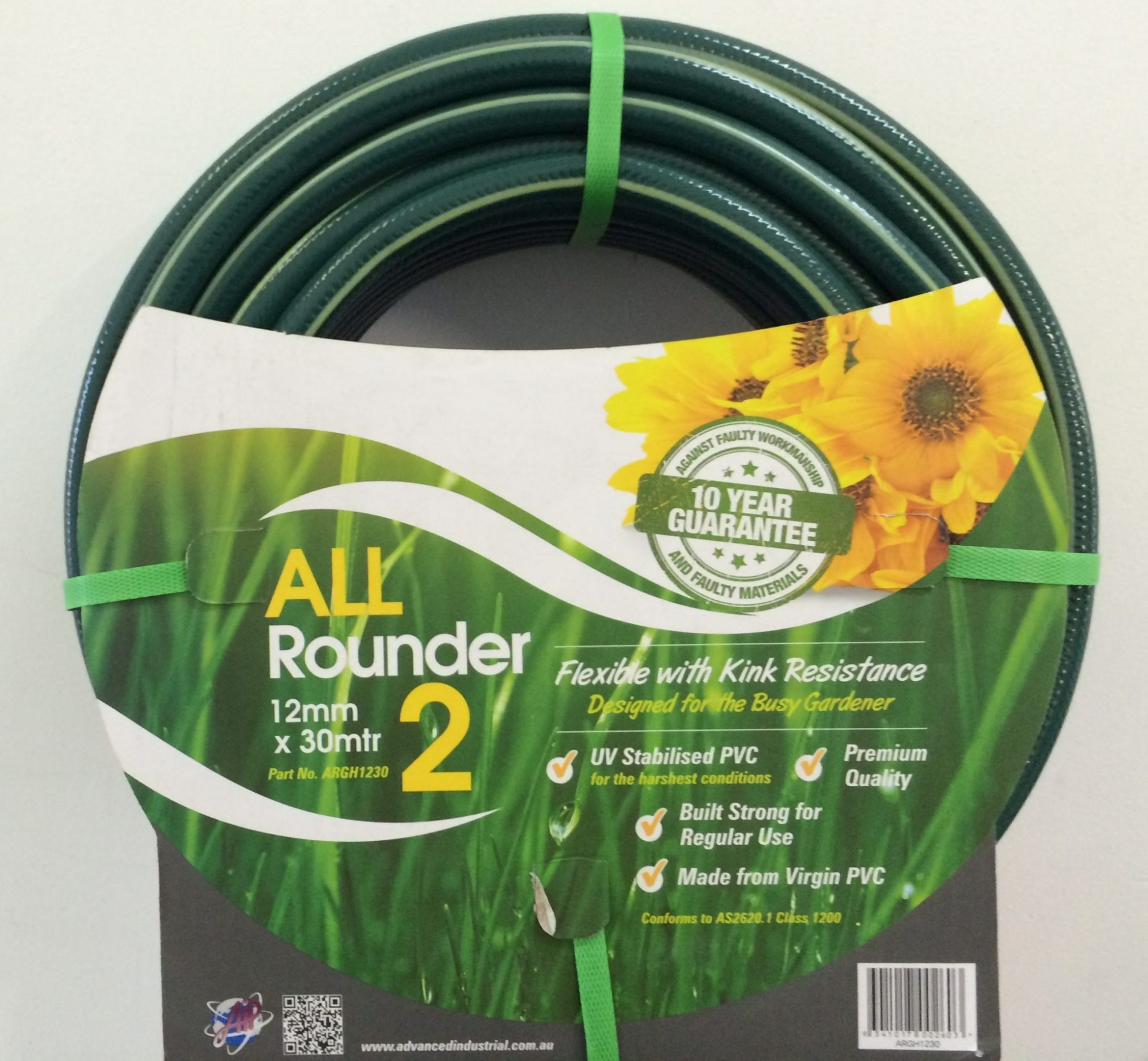 12MM X 30M ALL ROUNDER GARDEN HOSE