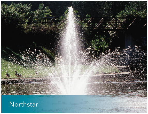 AIR-O-LATOR NORTHSTAR SURFACE MOUNTED FOUNTAIN THREE PHASE