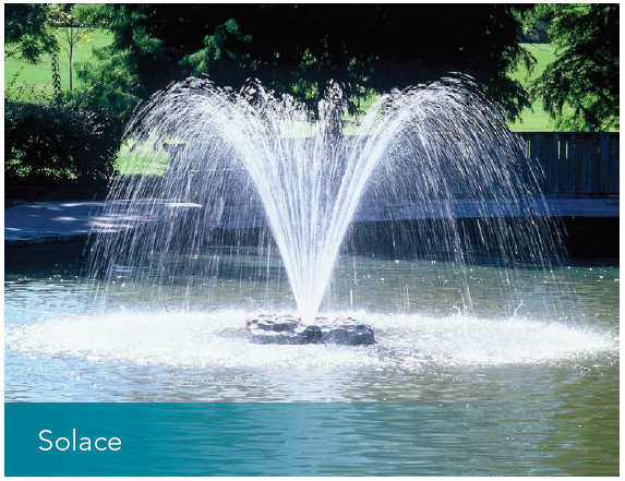 AIR-O-LATOR SOLACE SURFACE MOUNTED FOUNTAIN THREE PHASE