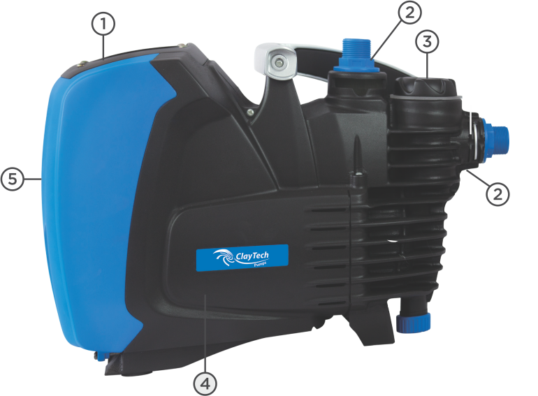 CLAYTECH 640W ePump VARIABLE SPEED PUMP