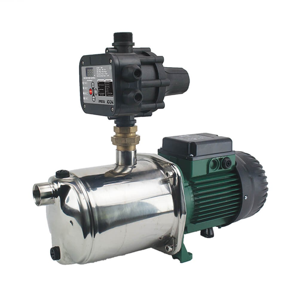 DAB 1000W EUROINOX40/80 HORIZONTAL MULTISTAGE PUMP WITH iPRESS PRESSURE CONTROLLER