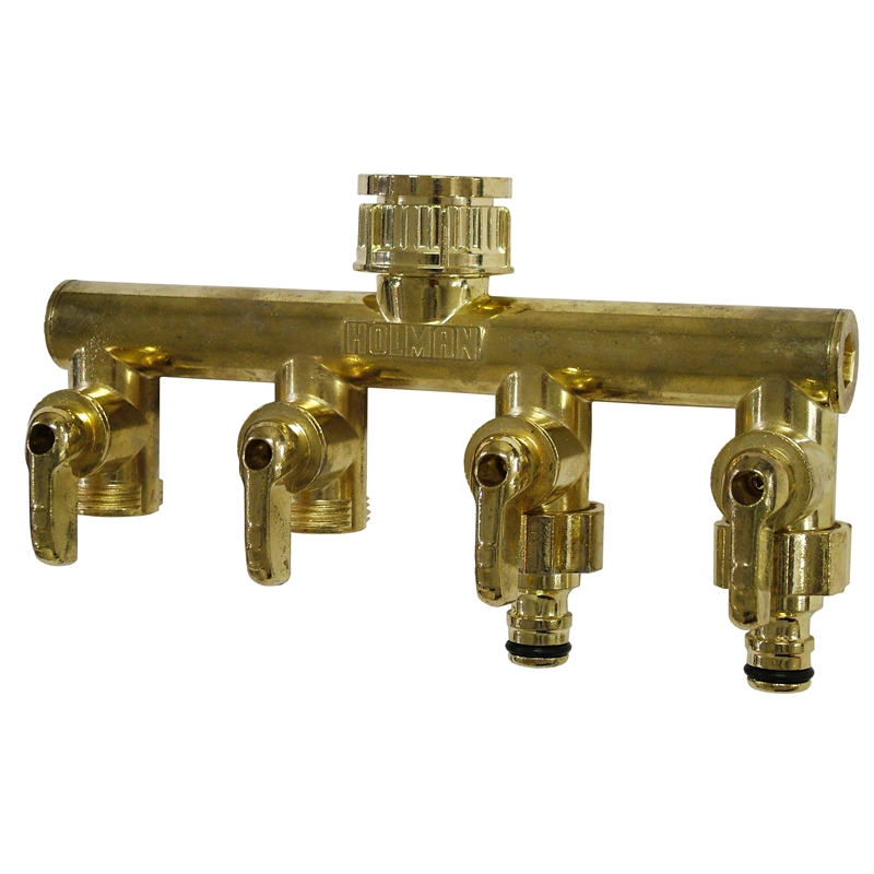HOLMAN 4 WAY TAP OUTLET MANIFOLD