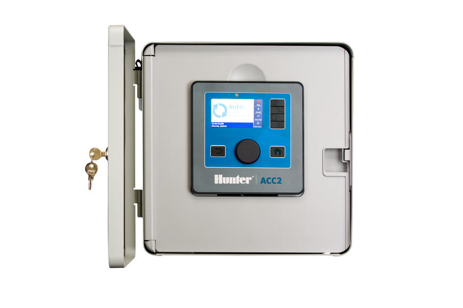 HUNTER ACC2 12 STATION MODULUAR OUTDOOR CONTROLLER – METAL CABINET