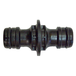 12MM PLASTIC 2 END HOSE COUPLER