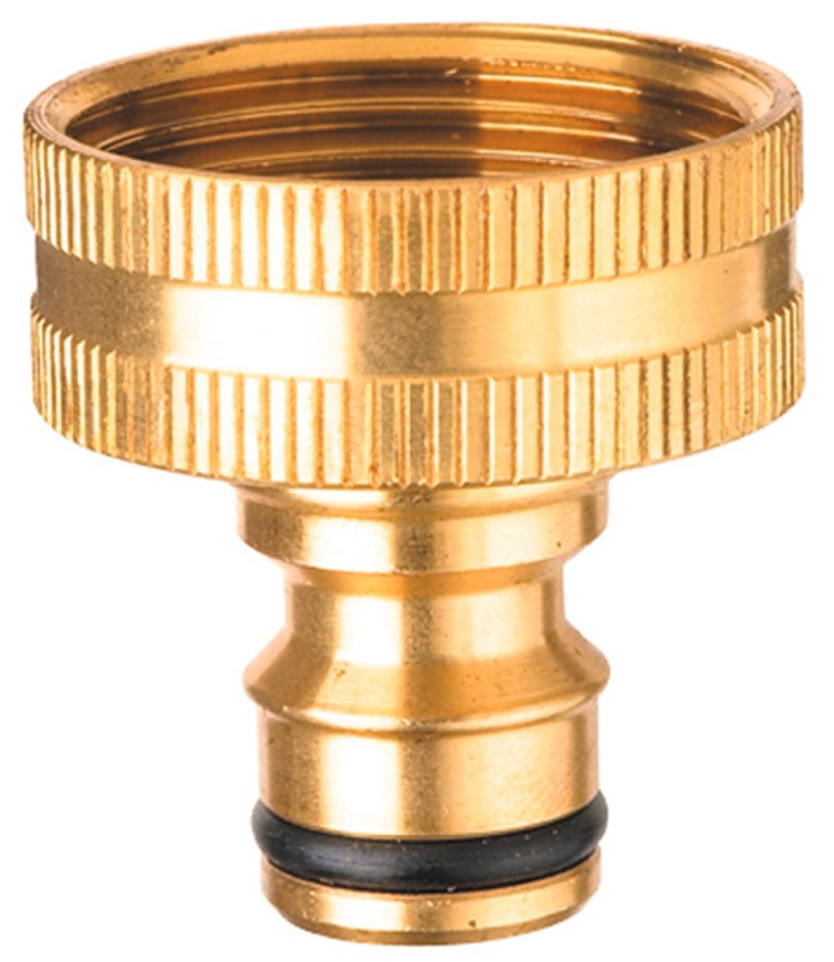 ORBIT BRASS 25MM TAP ADAPTOR