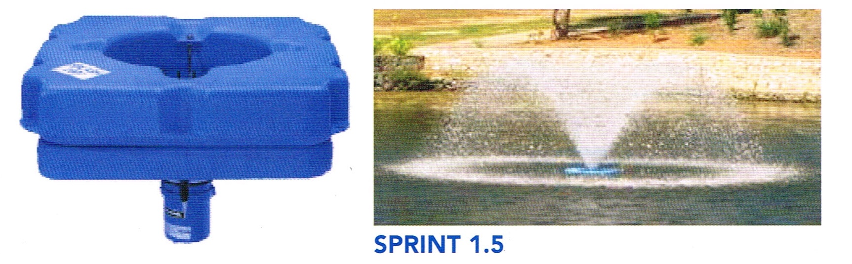 ACQUA & CO SPRINT 1.5 SINGLE PHASE POND AERATOR