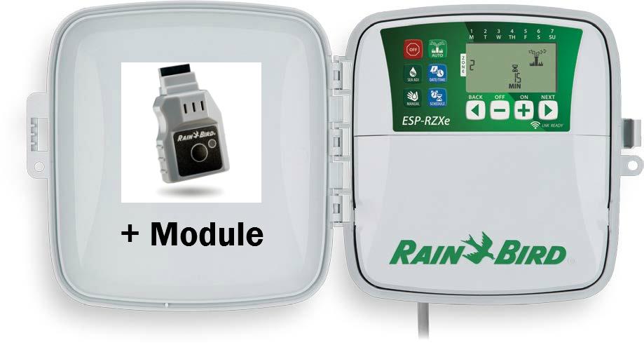 RAIN BIRD ESP-RZX 6 STATION OUTDOOR WIFI CONTROLLER WITH LNK WIFI MODULE